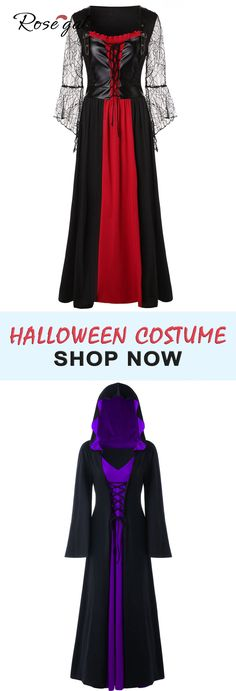 FREE shipping over $45, up to 70% OFF, Rosegal plus size Halloween costume maxi dress wizard dress for curvy girl Halloween party dress ideas | #Rosegal #plussize #curvy #Halloween #costume