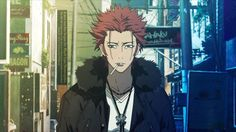 Suoh Mikoto walking into your life like… K Project, Me Me Me Anime, Anime Guys, Suoh Mikoto, Return Of Kings, Animated Icons, A Silent Voice, Identity Art, Awesome Anime