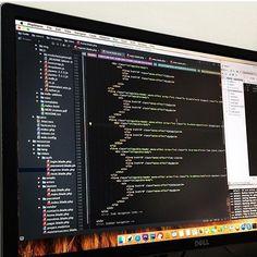 Awesome shot by @atacamaworkbench #developer #technology #programmer #code #work #js #html #css #python #php #nodejs #ajax #jquery #java #angularjs #webdev #online #seo #marketing #website #analytics #keyword #traffic #digitalmarketing #development #software #webdeveloper #desk #setup