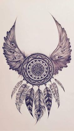▷ 1001 + Mandala painting ideas + detailed instructions a drawing . - ▷ 1001 + ideas for painting mandala + detailed instructions a drawing of a dream catcher with fea - Mandala Art, Dotwork Tattoo Mandala, Mandalas Drawing, Mandala Tattoo Shoulder, Mandala Wolf, Mandala Tattoo Design, Mandala Pattern, Future Tattoos, Lotus Tat