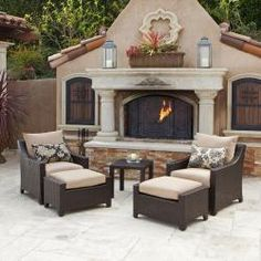 Patio furniture. I bought it. Love it!