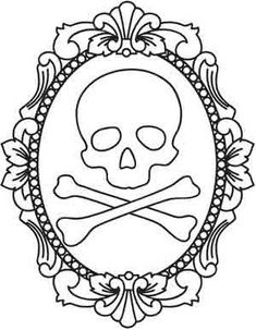 skulls and skeletons | Urban Threads: Unique and Awesome Embroidery Designs