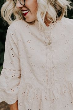 Detailed Lace Top | ROOLEE