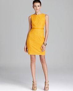 Trina Turk Dress - B Line Sheath | Bloomingdale's