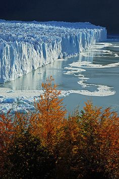 Parque Nacional de Los Glaciares, Patagonia Argentina - Saul Santos Diaz (****See similar Pins of the Glaciers of Argentina in this Board. Places To Travel, Places To See, Travel Destinations, Places Around The World, Around The Worlds, Wonderful Places, Beautiful Places, Amazing Places, Ushuaia