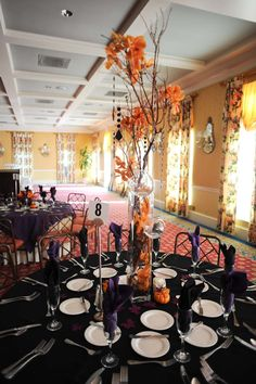 quirky halloween wedding patricia and thomas wedding planning ideas etiquette bridal - Halloween Themed Wedding Reception