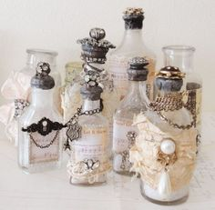 Recycled Perfume Bottles Decor Ideas