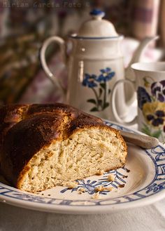 """Pulla (Finnish bread) """"A unique bread with a sweet flavor that makes a wonderful holiday gift! It takes about 4 hours to make, so allow yourself plenty of time."""""""