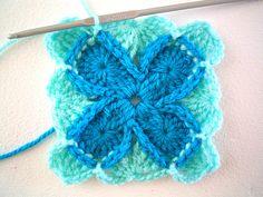 Sarah London's Wool-Eater Blanket - close-up.