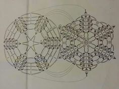 Bombka Crochet Snowflake Pattern, Crochet Snowflakes, Crochet Stitches Patterns, Crochet Motif, Crochet Doilies, Crochet Christmas Decorations, Crochet Christmas Trees, Crochet Decoration, Holiday Crochet