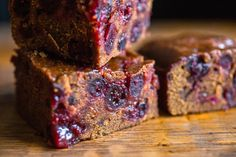 NYT Cooking: Sticky Cranberry Gingerbread