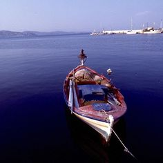 Fishing Boat In The Harbour Fishing Boats, Film Photography, Greece, Instagram Posts, Greece Country, Convertible Fishing Boat, Bass Boat