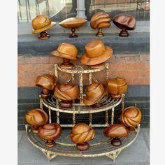 Collection of 15 original Hatmaker's Blocks