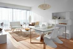 Evolo - white furniture White Furniture, Condominium, Dining Bench, Modern, Home Decor, White Cabinets, Trendy Tree, Decoration Home, Table Bench