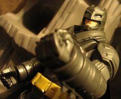 Toyriffic: Batman v Superman Battle Armor Batman :: I AM IRON-BATMAN! Iron Batman, Batman Stuff, Catwoman, Harley Quinn, Master Chief, Superman, Battle, Comic Books, Harley Quin