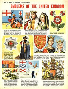 National Symbols of England | National Symbols of Britain: Emblems of the United Kingdom - Look and ...