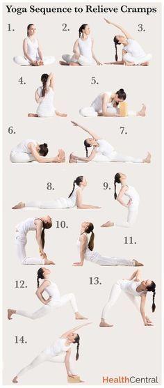 14 #yoga poses to beat #period cramps:…