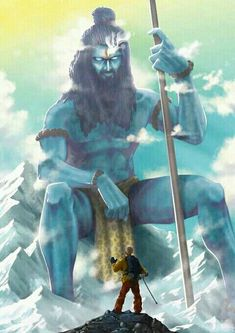 meet shiva in kailash man Mahakal Shiva, Shiva Statue, Shiva Art, Hindu Art, Angry Lord Shiva, Rudra Shiva, Shri Hanuman, Durga Maa, Lord Shiva Hd Images