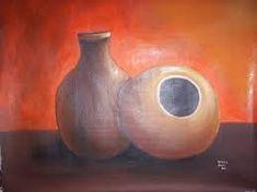 Resultado de imagen para imagenes dibujo de tinajas Candle Holders, Candles, Paintings, Mud, Friends, Paint, Painting Art, Porta Velas, Candy