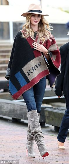 the Poncho with initiaLs ... hmmm, ABL or BLT?