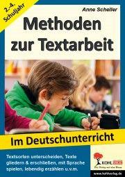 Methoden zur Textarbeit im Deutschunterricht | Deutsch | Grundschule | Buch-Shop | Unterrichtsmaterialien, Arbeitsblätter & Übungsblätter | Mein-Unterrichtsmaterial.de