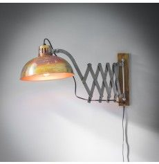 Finley Wall Light in Burnished Copper