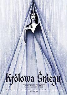Królowa śniegu, plakat baletowy, Ryszard Kaja