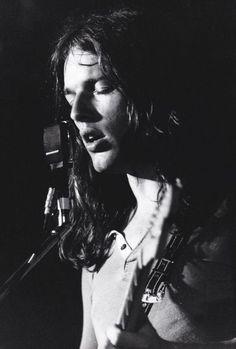 David Gilmour • June 1970 | © Jean-Pierre Leloir: