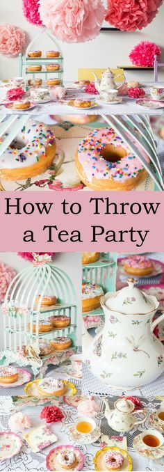 How to Throw a Tea P