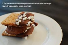 - The Cakies ultimate s'mores ice cream sandwich recipe is sure to satisfy one's sweet tooth. This easy to make treat is a fun spin on the tr. Ice Cream Deserts, Ice Cream Recipes, Chocolate Sugar Cookies, Chocolate Desserts, Smores Dessert, Summer Ice Cream, Christmas Snacks, Christmas Recipes, Frozen Treats