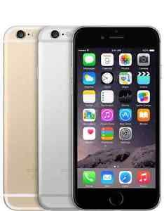 New Apple IPhone 6 - 16GB (Factory Unlocked) Smartphone Gold Gray Silver