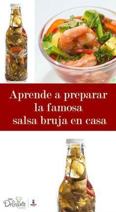 Ten lista tu salsa bruja casera y prepara los más ricos cócteles de camarón.