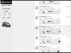 Smart Car Drives Through Twitter in Brilliant ASCII Animation