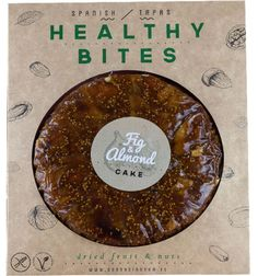 Fig & Almond Cake Dried Figs, Dried Fruit, Fig Cake, Natural Spice, Good Source Of Fiber, Cake Sizes, Spanish Tapas, Almond Cakes, Healthy Treats