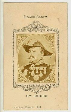 Boutique-Photos:  CDV Portrait du Général Jean Jacques Uhrich      ...