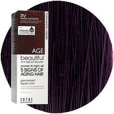 Darkest Plum Hair Color My favorite hair color,