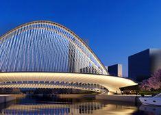 Xianbi bridge, Huashan by Santiago Calatrava