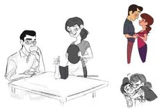 """""""The Hamada parents by mickeycookies <<< Literally the most bittersweet thing I've seen all week. :"""")"""" I agree, some did the Hamada parents. Disney And Dreamworks, Disney Pixar, Disney Characters, Big Hero 6 2, Best Disney Animated Movies, Hero 6 Movie, Gogo Tomago, Tadashi Hamada, The Big Four"""