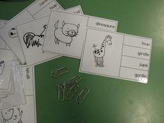 ondecole.ch - Matériel lecture de mots Phonics Words, Word Reading, Gorilla Gorilla