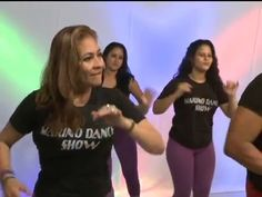 Bajar de peso bailando en casa en español. Ejercicios para bajar de peso - YouTube