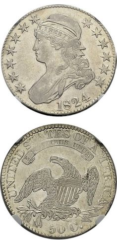 N♡T.USA 1/2 Dollar 1824.