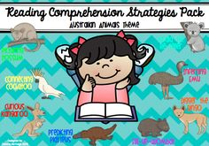 Grade - Pre-K - Kindergarten, Subject - - Reading Strategies - I used Australian animals when designing this resource pack as in the past I have used reading comprehension strategies that have native animals from other countries. Being from Australia and teaching in an Australian school I wanted to expose my students to our Australian culture where ever possible. I felt that this was a great way to do that. This reading comprehension pack includes:- 8 X Large reading comprehension strat...
