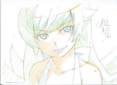 artist_unknown genga monogatari_second_season monogatari_series