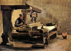 Vincent van Gogh:  Weaver (5)