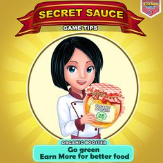 Tell us which food item you would like to see in our game tip super chefs cook healthy with organic ingredients and earn more solutioingenieria Gallery