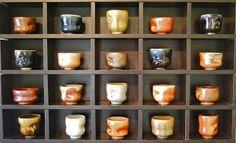 Chris Gustin kiln-opening today