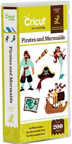 Pirates and Mermaids Cricut Cartridge