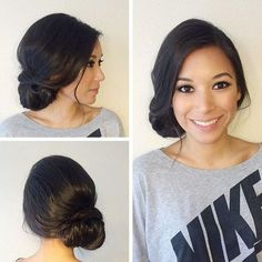 messy+loose+side+updo