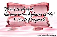 F. Scott Fitzgerald sure got it right!!  Cheers!
