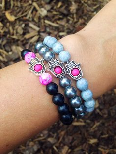 #FriendshipBracelets #BraceletsForFun #BraceletsLucky #BraceletsForAbundance #BraceletsOfLove #BraceletsForYou #brown #nature #Fatima #Hamsa  #Beads #SilverHand #wood #HamsaStyle #black #pink #grey #Silver  https://www.facebook.com/ensistore